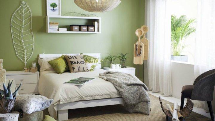 camera-da-letto-feng-shui-verde