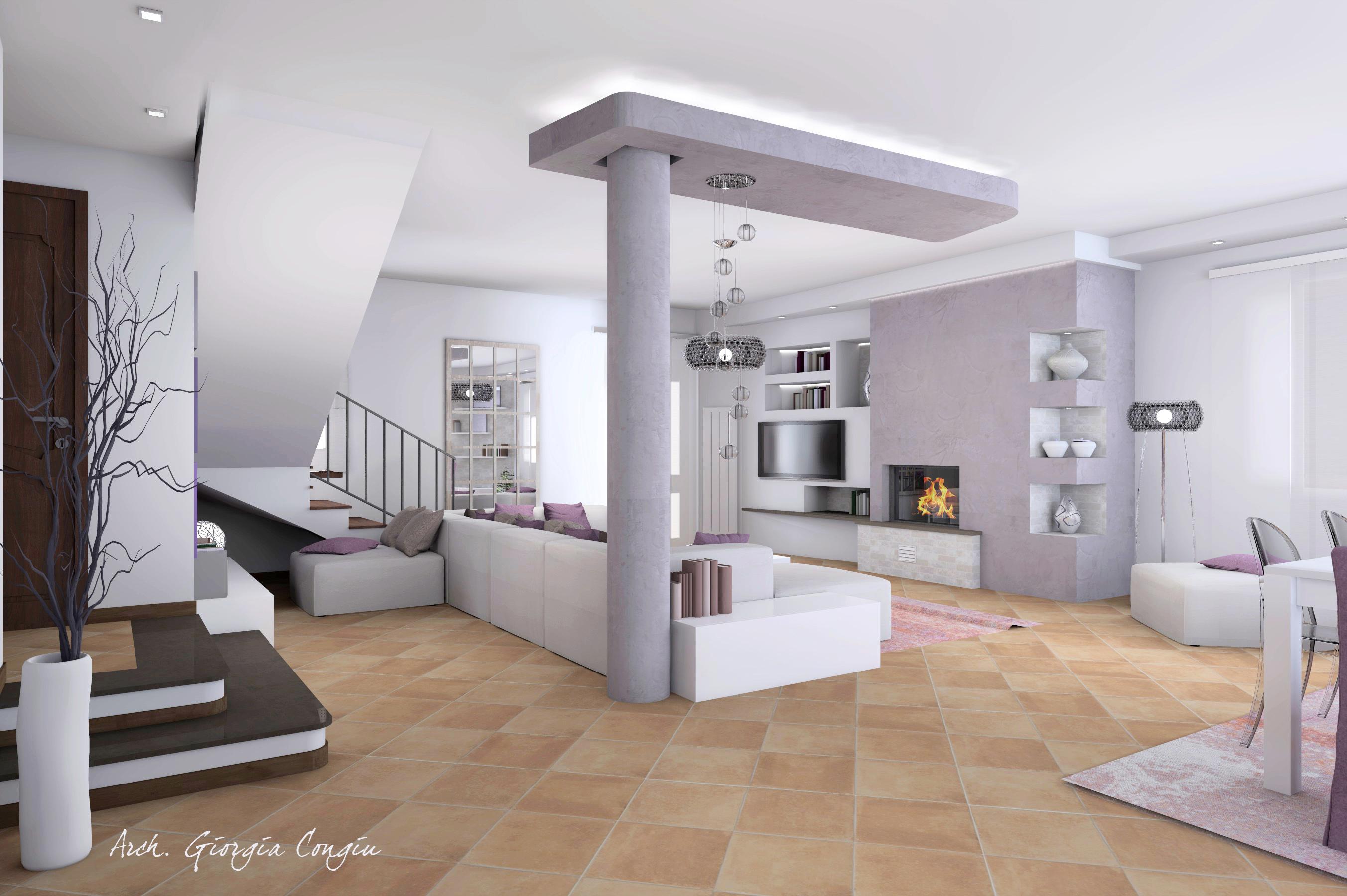 Esempi di arredamento moderno for Arredamento design moderno