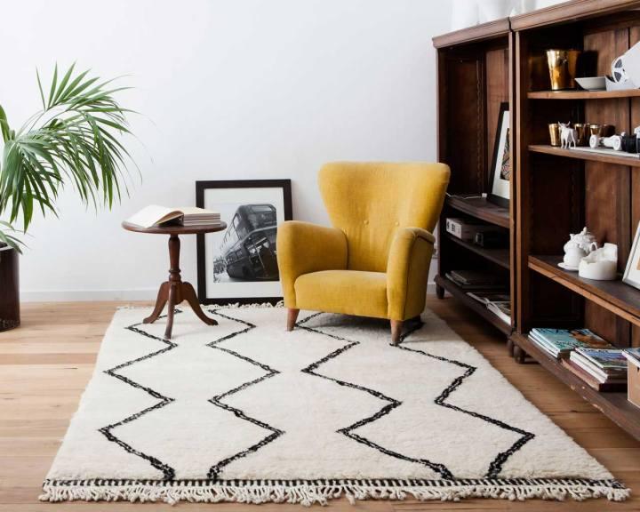 Tappeti-Shaggy-disegno-berber-marocchino