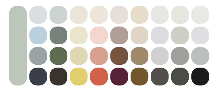 Tendenze e colori2020